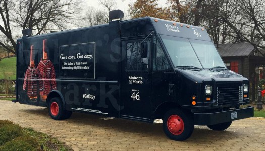 Maker's Mark Kicks Off Holiday Season with Give Cozy, Get Cozy Truck