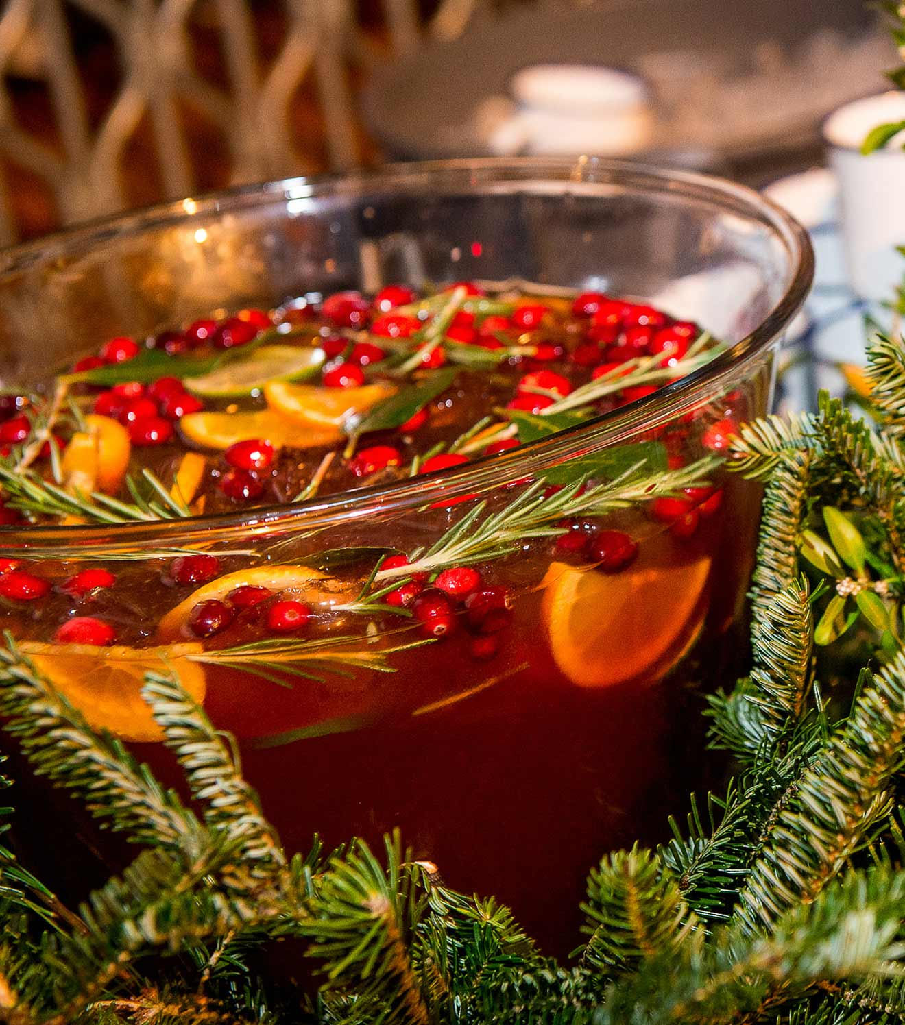Must Mix: Pepperdier Christmas Punch