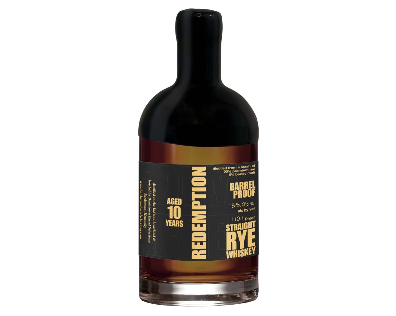 Redemption Barrel Select 10 Year Rye