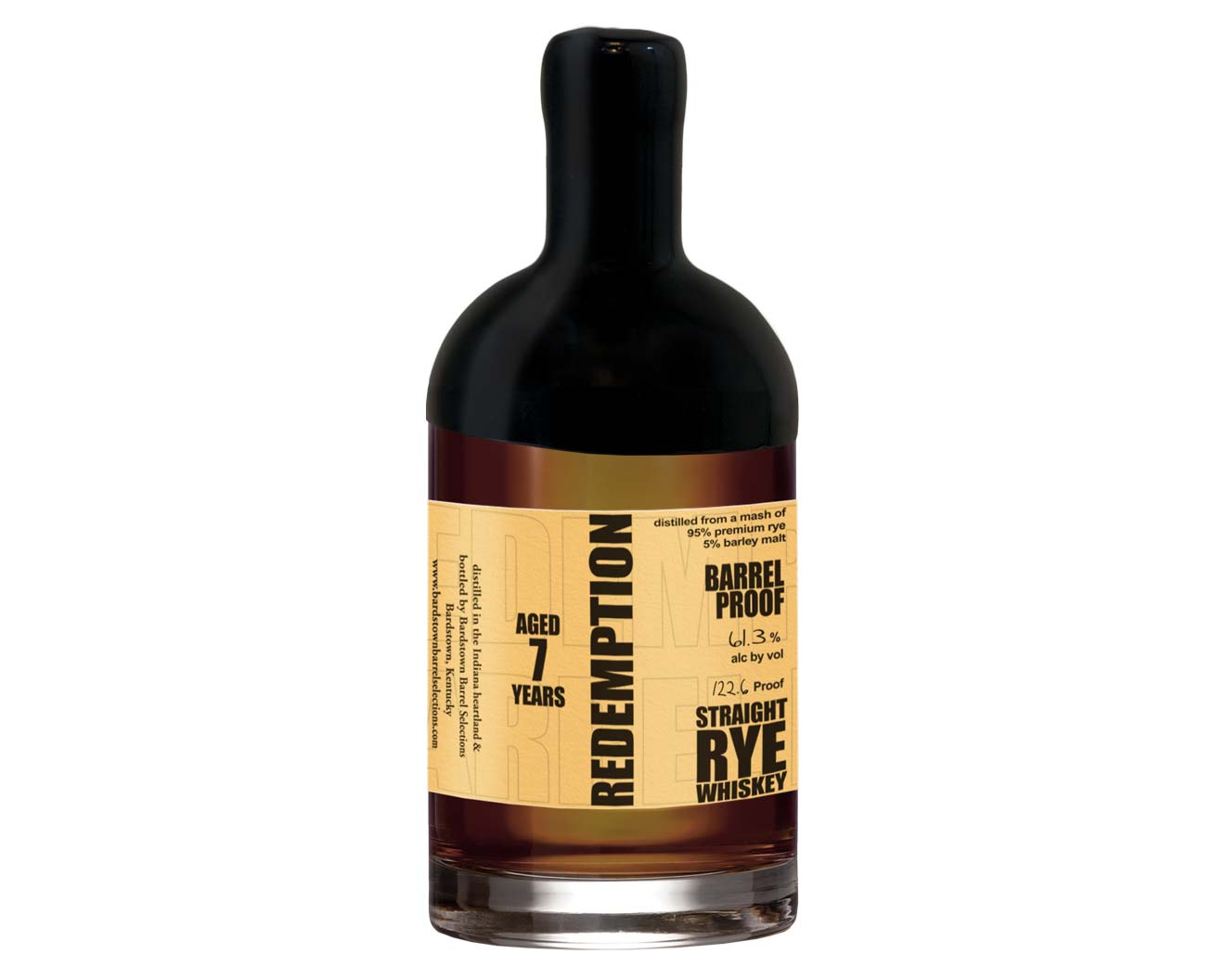 Redemption Barrel Select 7 Year Rye