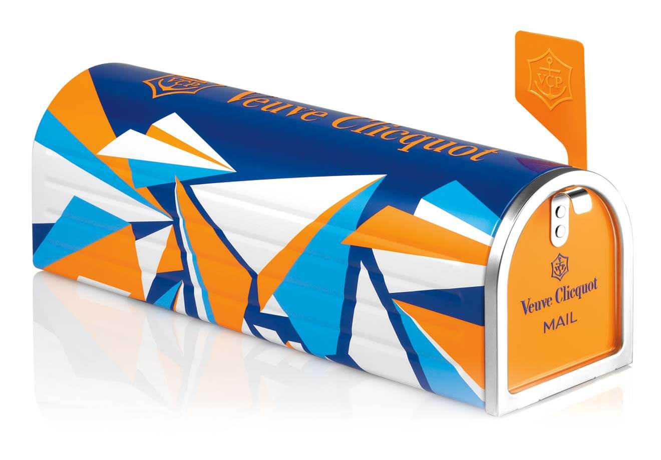 Clicquot En Route Limited Edition Mailbox