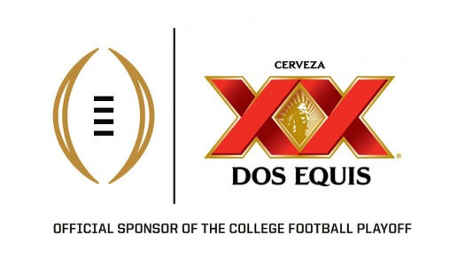 Dos Equis Becomes Official Beer Sponsor of College Football Playoffs on ESPN