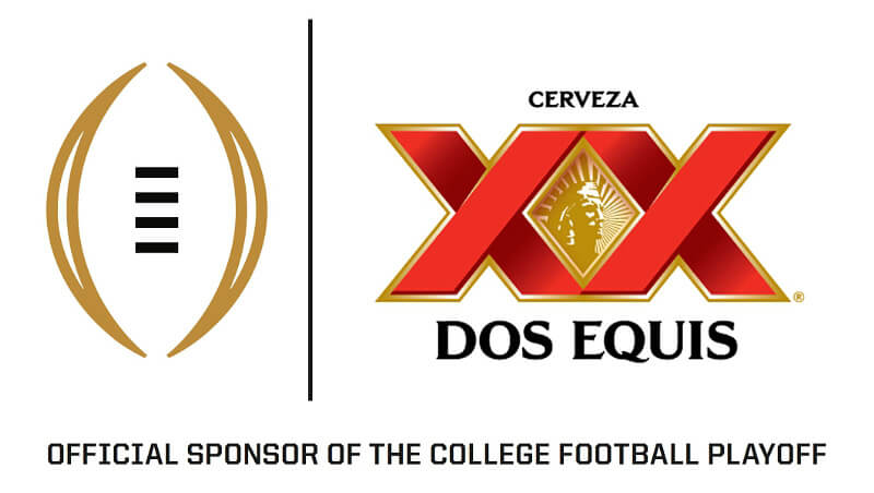 College Football Playoff >> Dos Equis Becomes Official Beer Sponsor of College Football Playoffs on ESPN