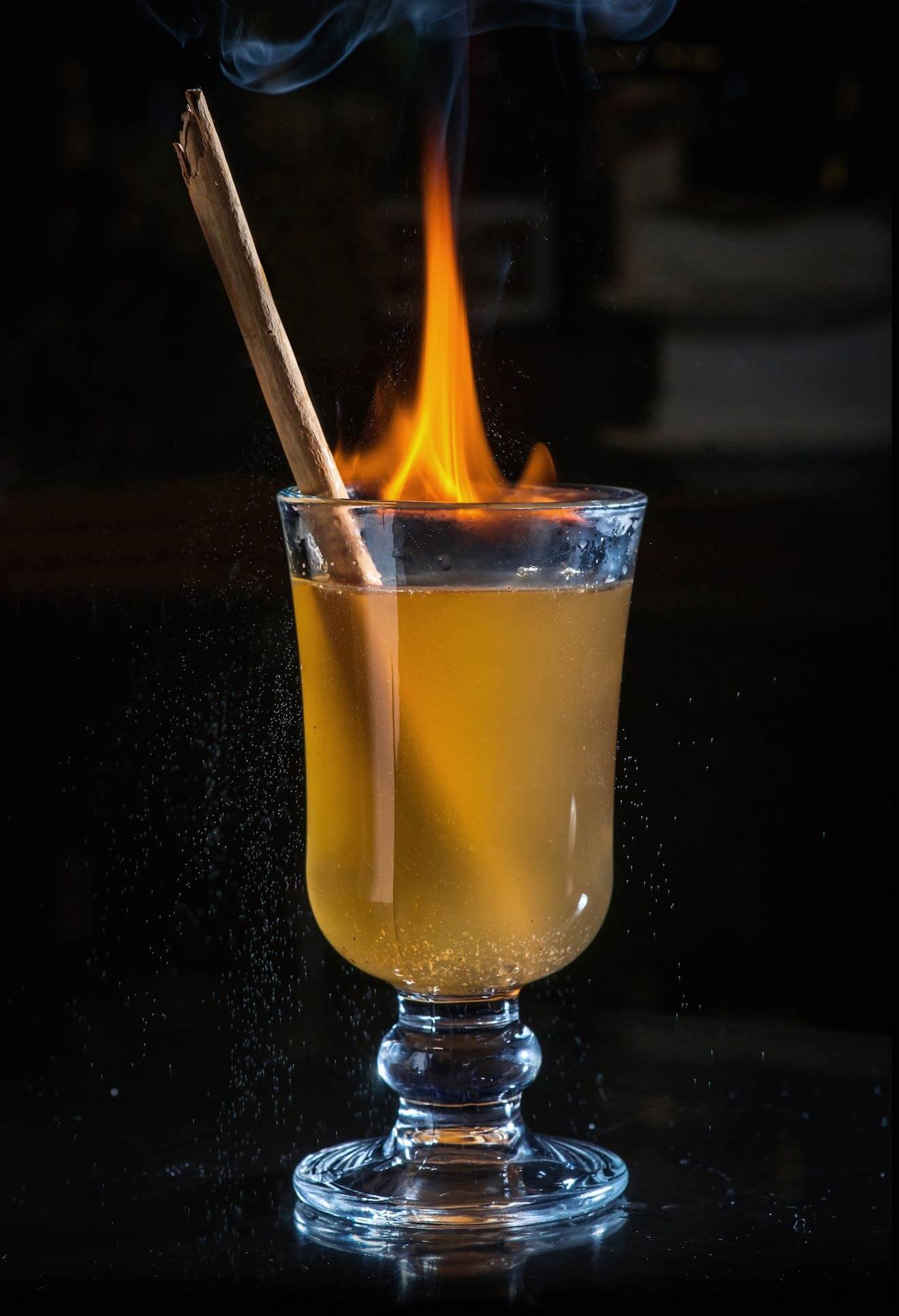 Flaming Hot Toddy