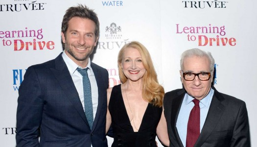 Martin Scorsese and Bradley Cooper toast Patricia Clarkson's new role in 'Learning to Drive'