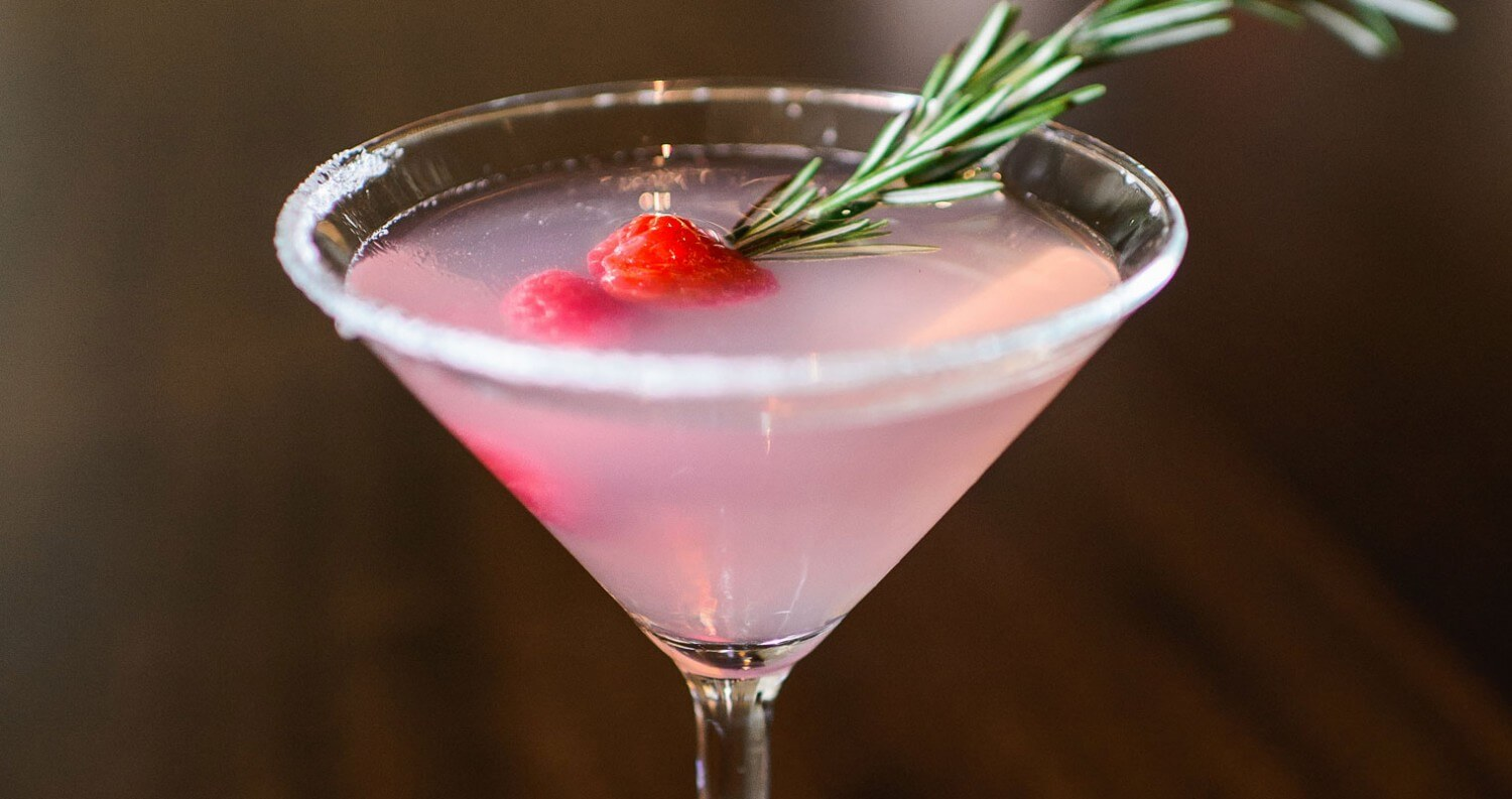 Drink Of The Week: Mistletoe Martini From Davio's Boston