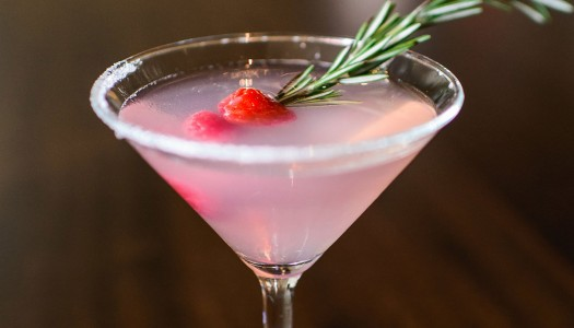 Chilled Drink of the Week: Mistletoe Martini from Davio's Boston