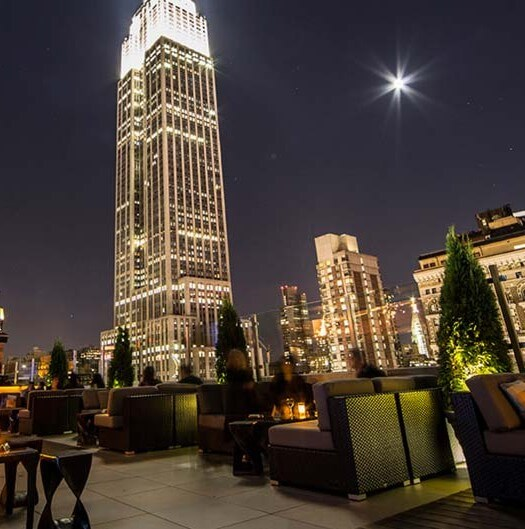 Spend New Years Eve at a Rooftop in the Garment District NYC