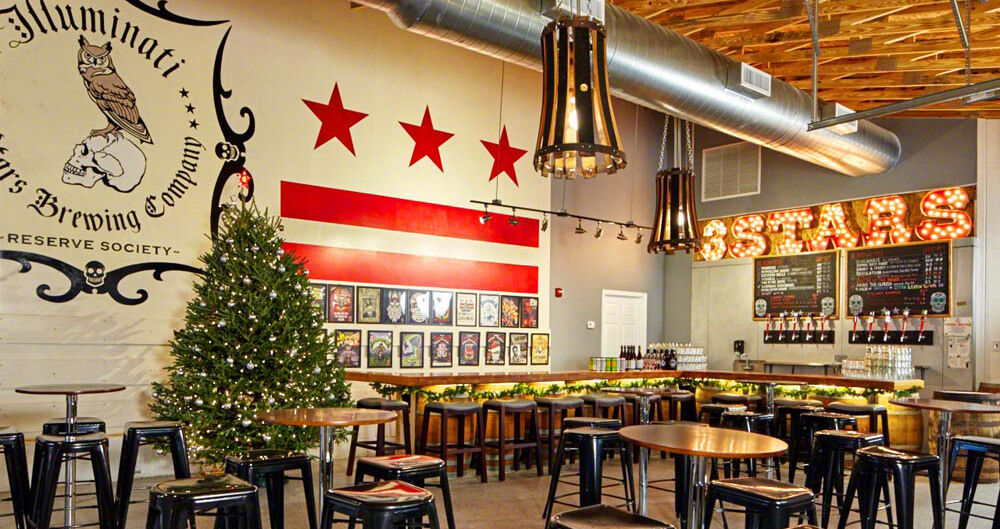 3 Stars Brewery Opens its Doors in Washington D.C. Featured Bars Chilled Magazine