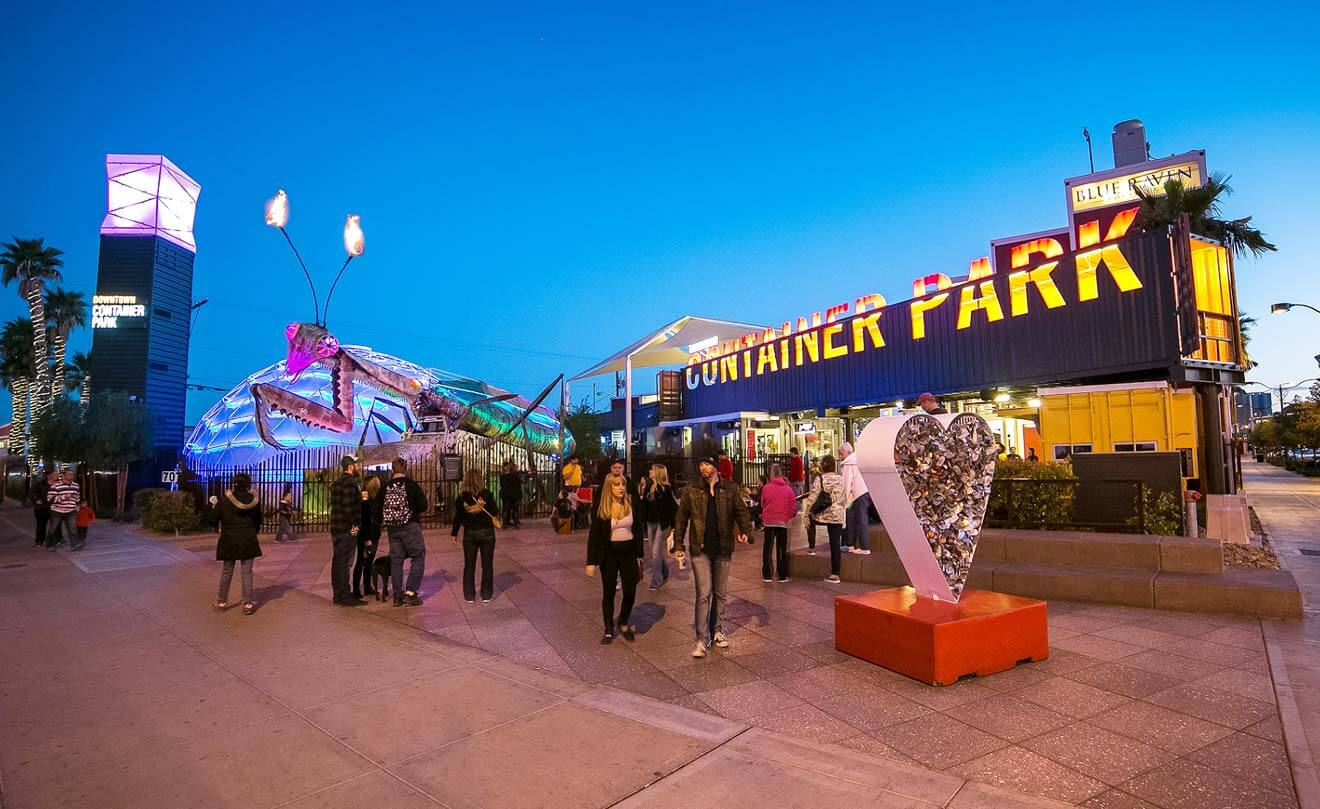 Container Park, photo by Emily Wilson, industry news