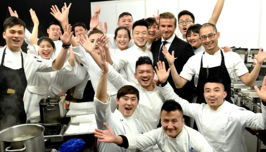 David Beckham Welcomes Guests to Haig Club Shanghai