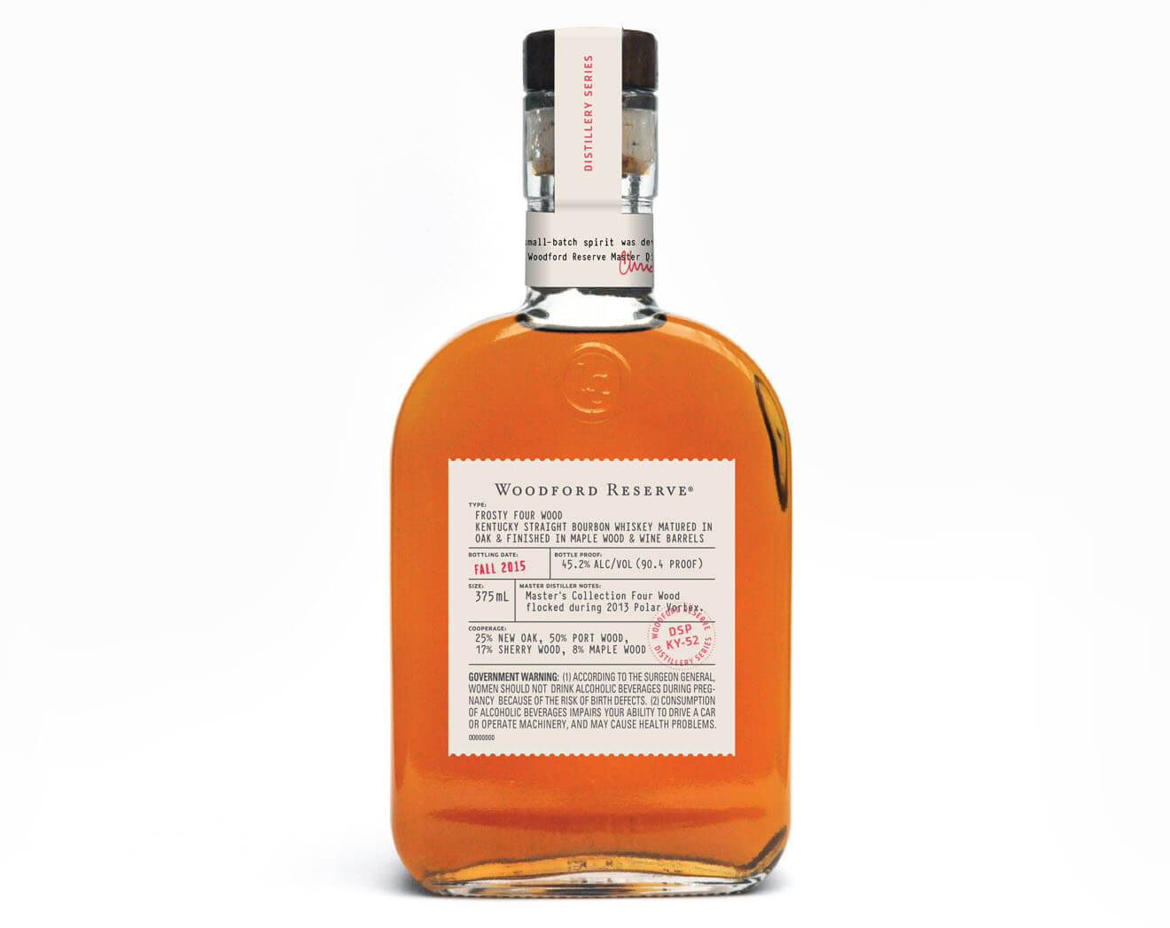 Woodford Reserve 'Frosty Four Wood', featured brands
