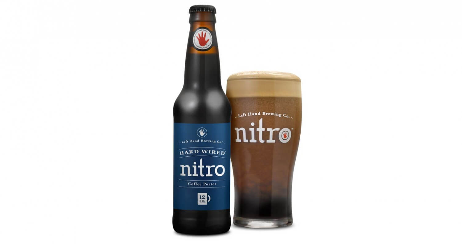 Left Hand Brewing Introduces Hard Wired Nitro, beer news, featured image