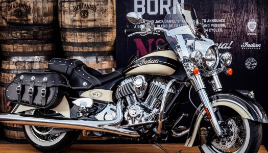 Indian Motorcycle and Jack Daniel's Partner on Iconic Jack Daniel's-Branded Indian Chief Vintage