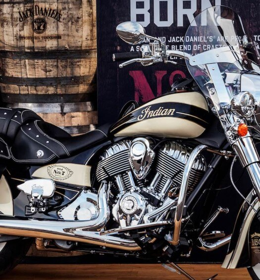 Indian Motorcycle and Jack Daniel's Partner on Iconic Jack Daniel's-Branded Indian Chief Vintage, industry news, featured image