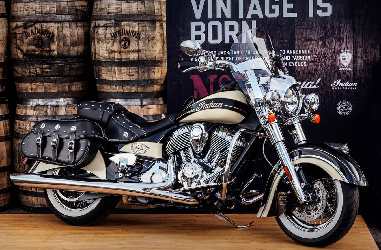 Jack Daniel's-Branded Indian Chief Vintage, Limited Edition, industry news
