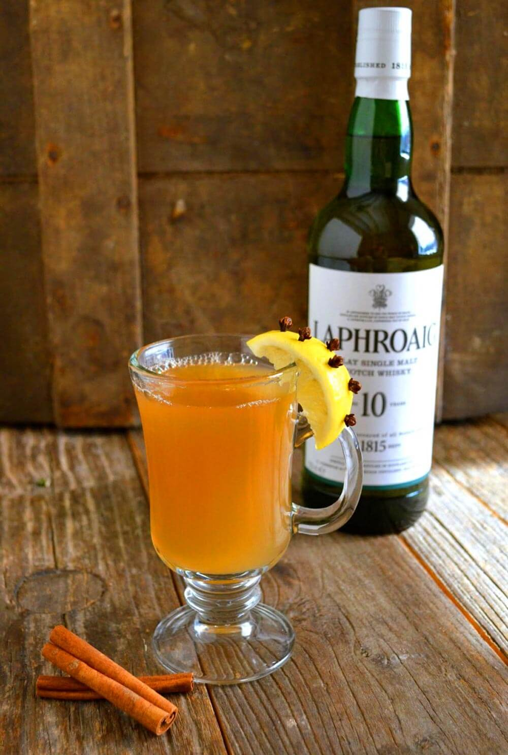 Laphroaig cocktail recipe, Feast Toddy