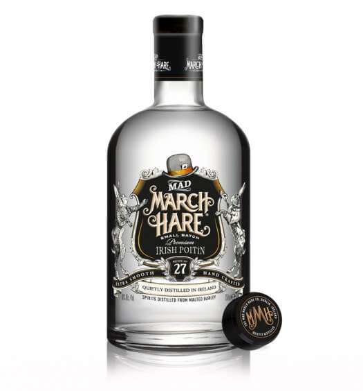 Mad March Hare Poitin Brings the Rich History of Irish Craft Distilling to the U.S., featured image featured brands