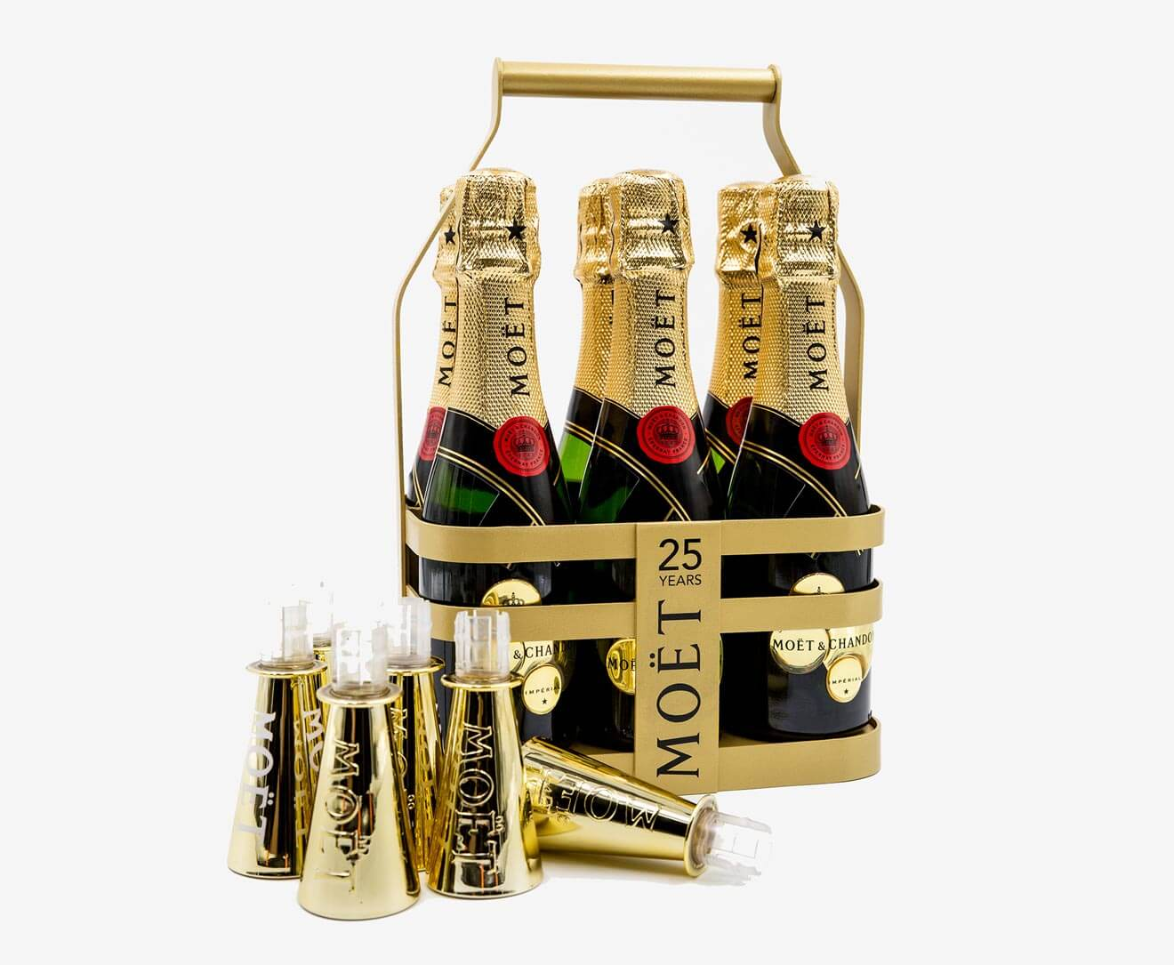 Mini Moët Champagne Caddy