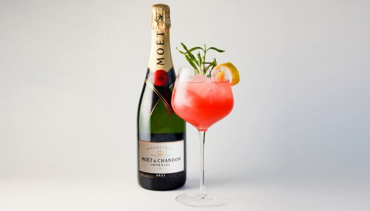 Moët Ruby Red – The Official Cocktail of the Golden Globes