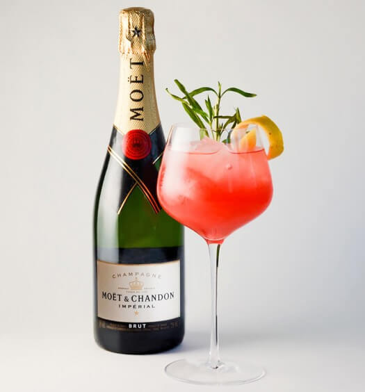 Moët Ruby Red with Bottle featured image