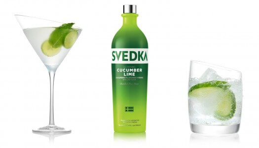 SVEDKA Vodka Launches SVEDKA Cucumber Lime