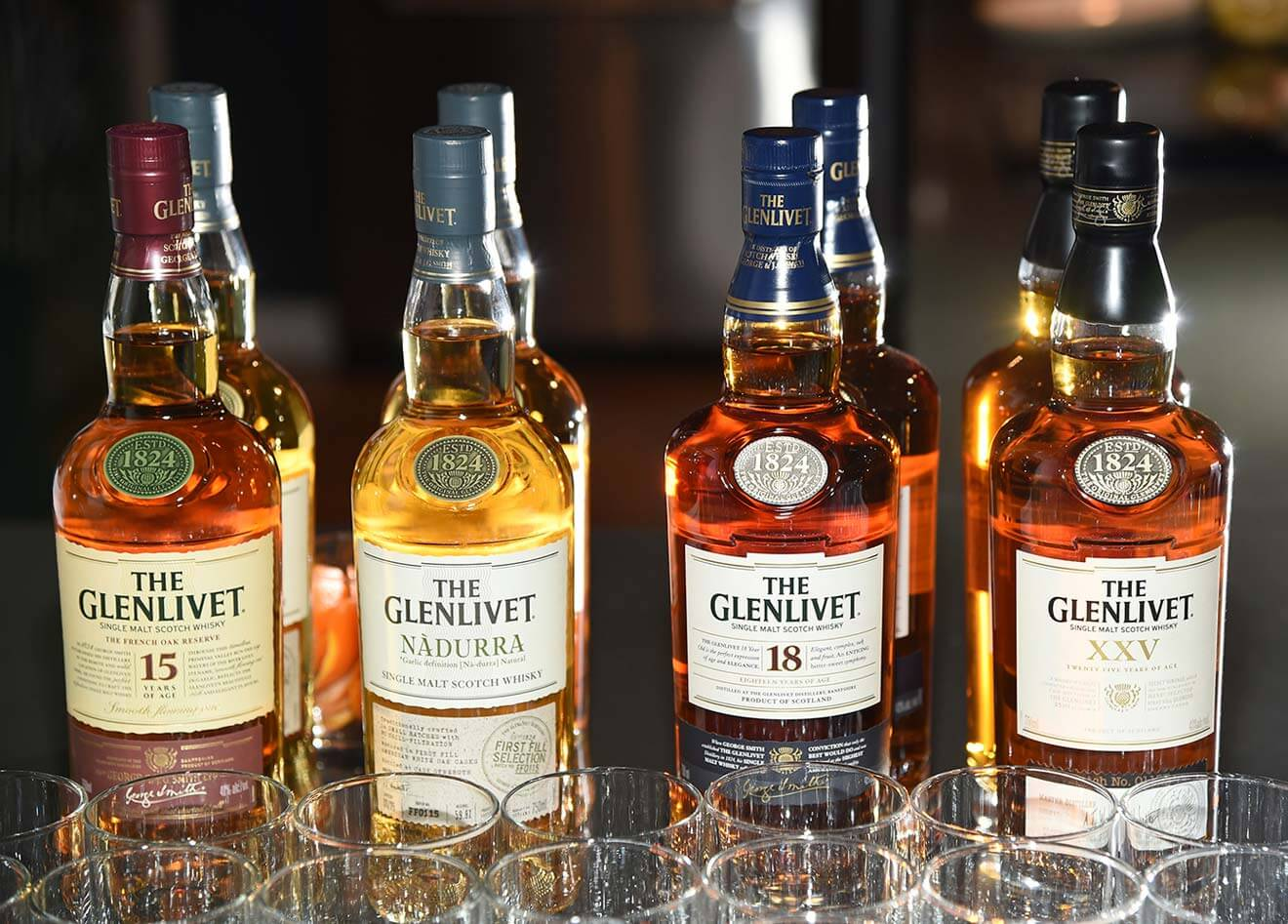 The Glenlivet Expressions Bottle Varieties