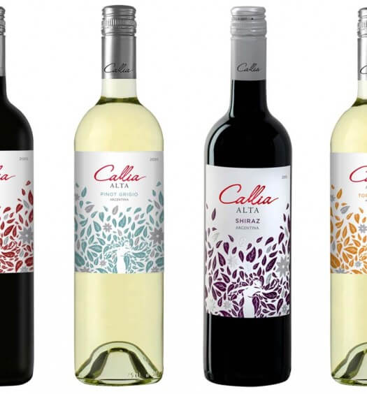 Callia Announces New Packaging, new line of wines, featured image wine news