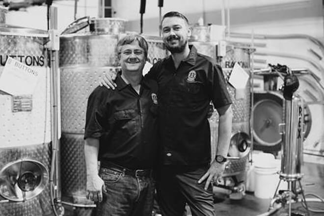 Robert Cordtz, co-founder of Sonoma Cider with his father, David Cordtz, CEO