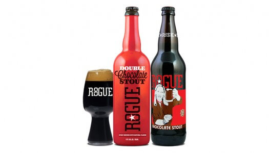 Celebrate Valentine's Day with Rogue Chocolate Stout and Double Chocolate Stout
