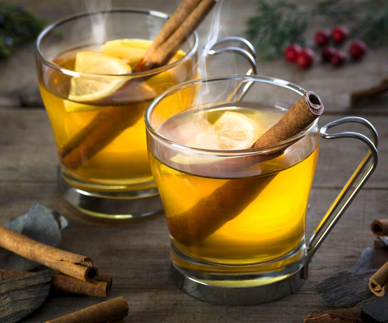 Classic Hot Toddy cocktail, what's chilling right now
