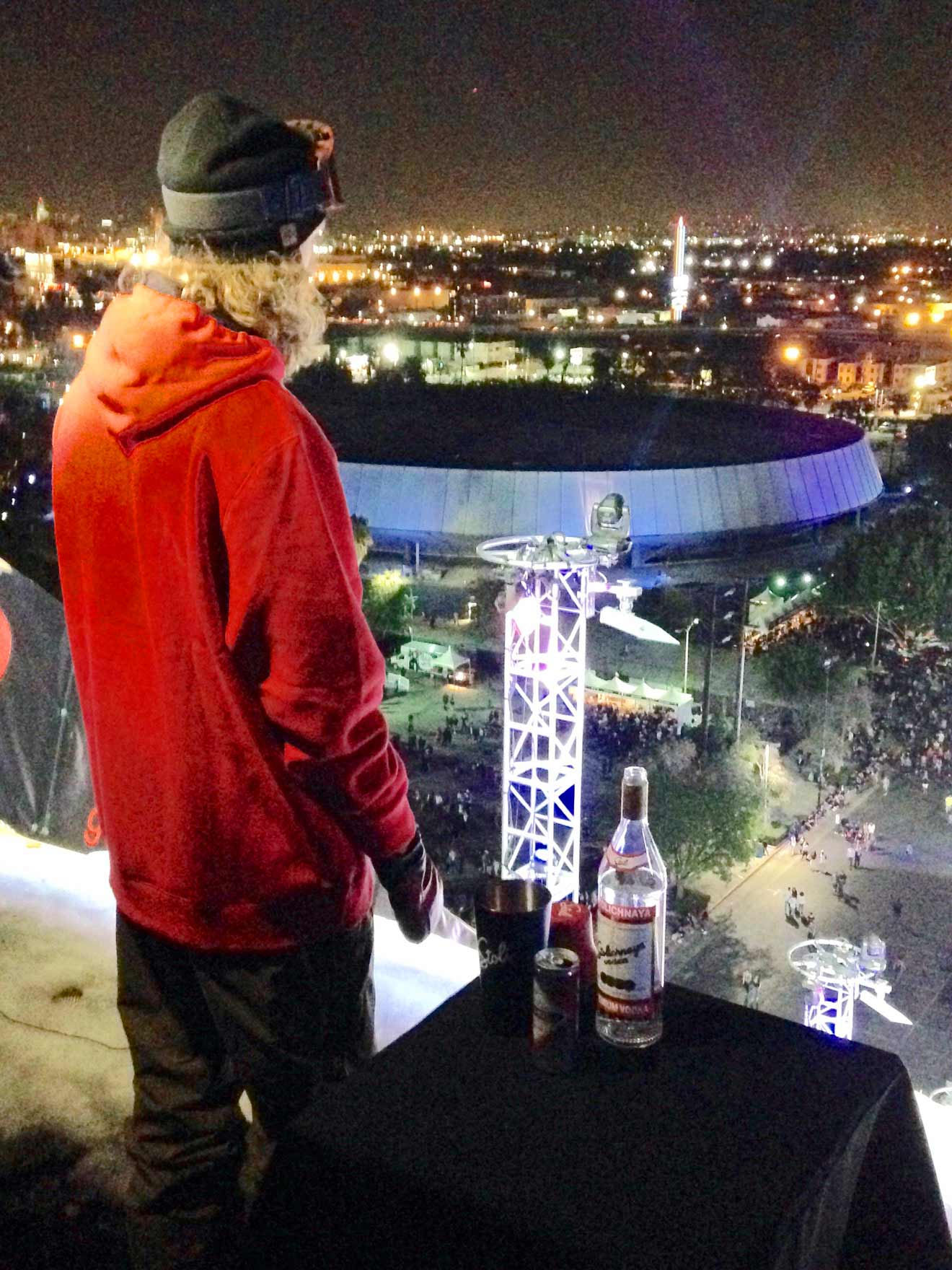 Eric Willett at the Top of the Mega Ramp, industry news