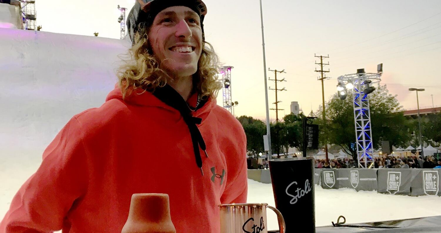 Eric Willett Creates the First Ever Big Air Mule by Stoli Vodka, industry news, featured image