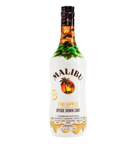 Malibu Introduces Pineapple Upside Down Cake, featured brands, featured image