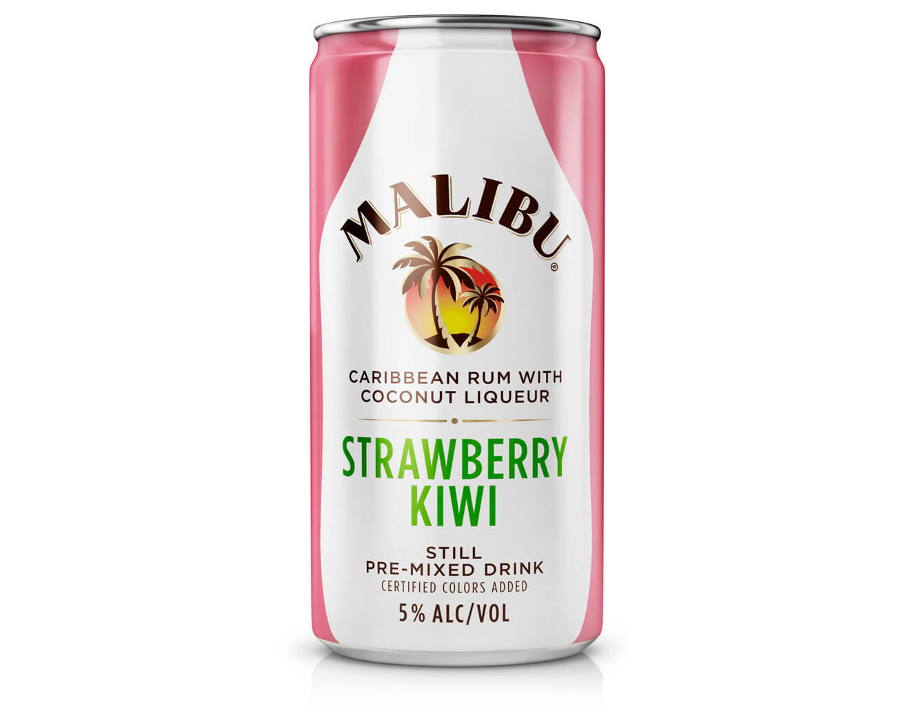 Malibu Launches Strawberry Kiwi In A Can