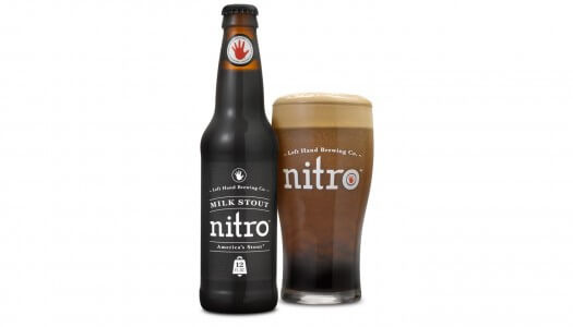 Toast St. Patrick's Day with Milk Stout Nitro