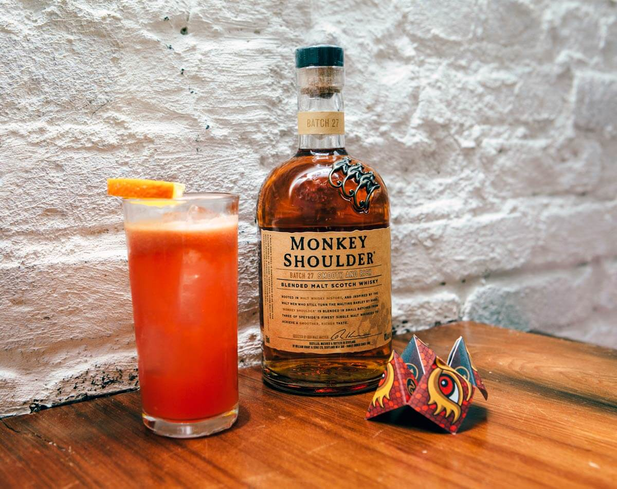 Must Mix: Monkey Shoulder Mandarin Mule cocktail by mixologist Charlotte Voisey