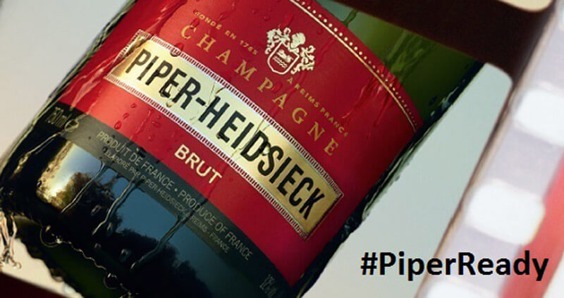 PIPER-HEIDSIECK Returns as 'Exclusive PIPER-HEIDSIECK Returns as 'Exclusive Champagne of the Oscars' Champagne of the Oscars' , industry news, featured image