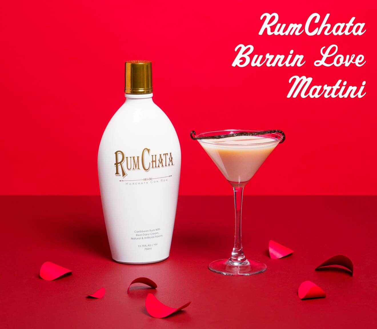 RumChata Burnin Love Martini, cocktails