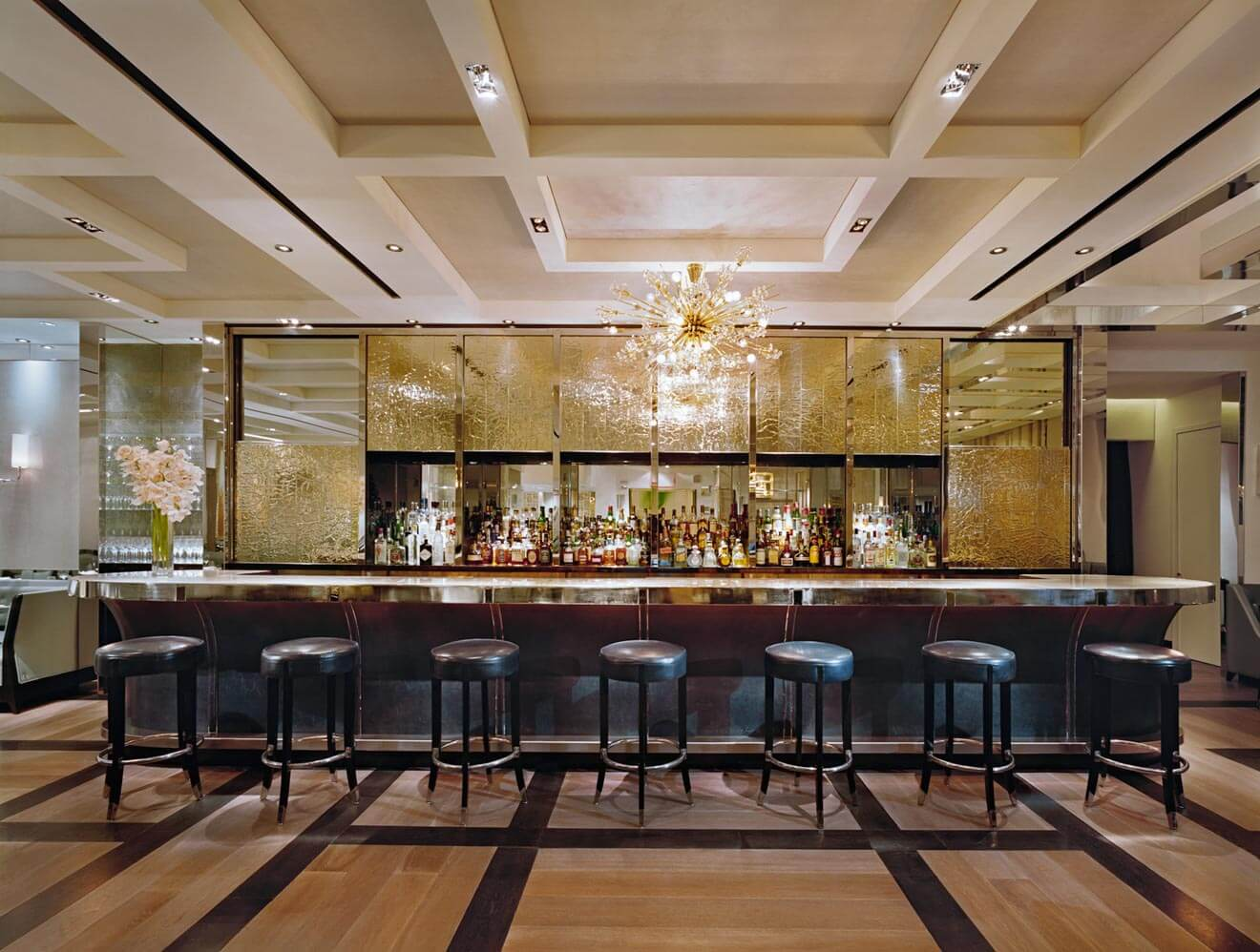 The London Bar, NYC, bar view, cocktail recipes