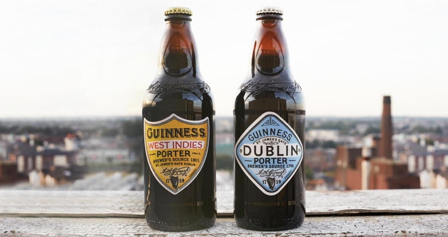 Guinness Dublin Porter and West Indies Porter Debut in U.S., beer news, featured image