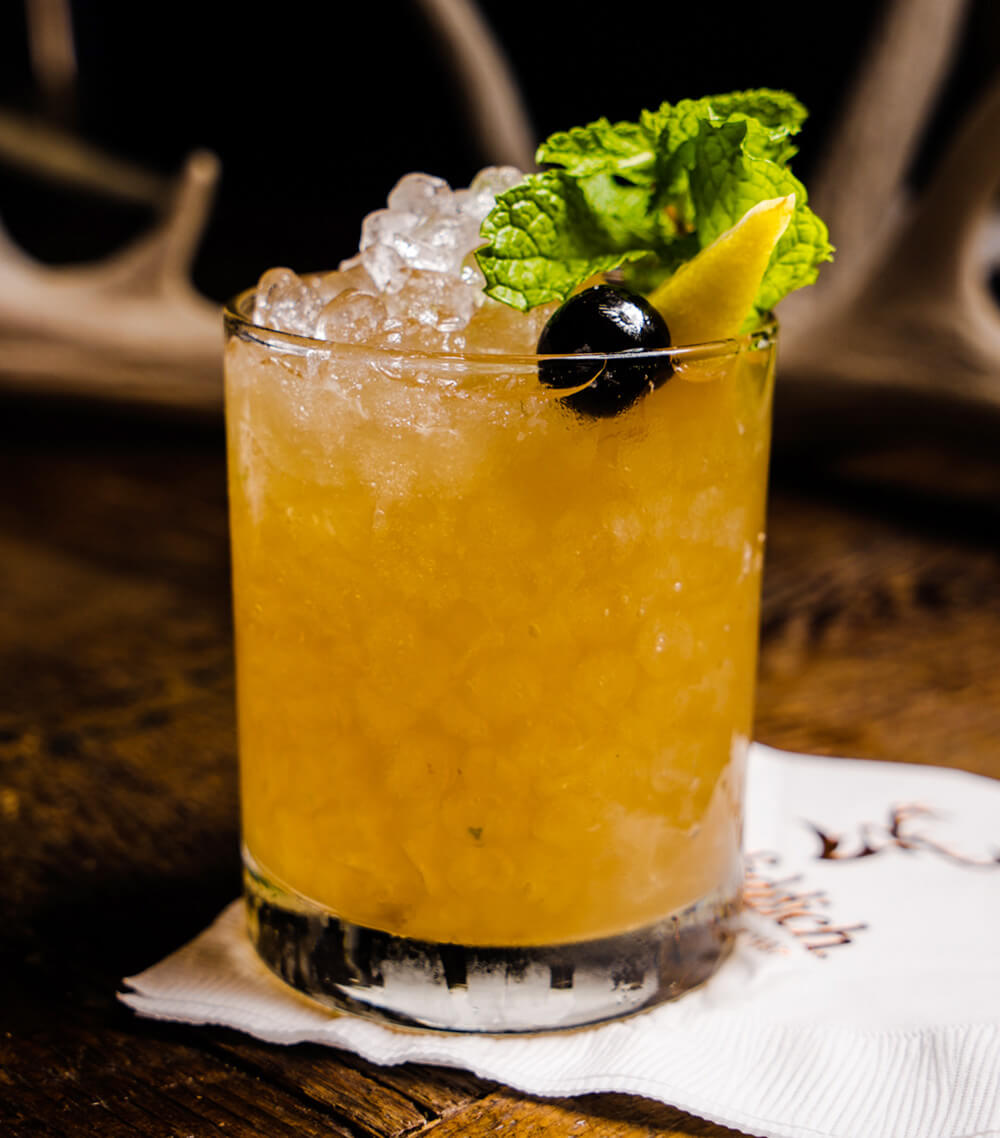 Chilled Drink of the Week: Whiskey Smash, cocktails