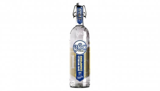 360 Vodka Produces Bottle to Celebrate Royals World Series Championship