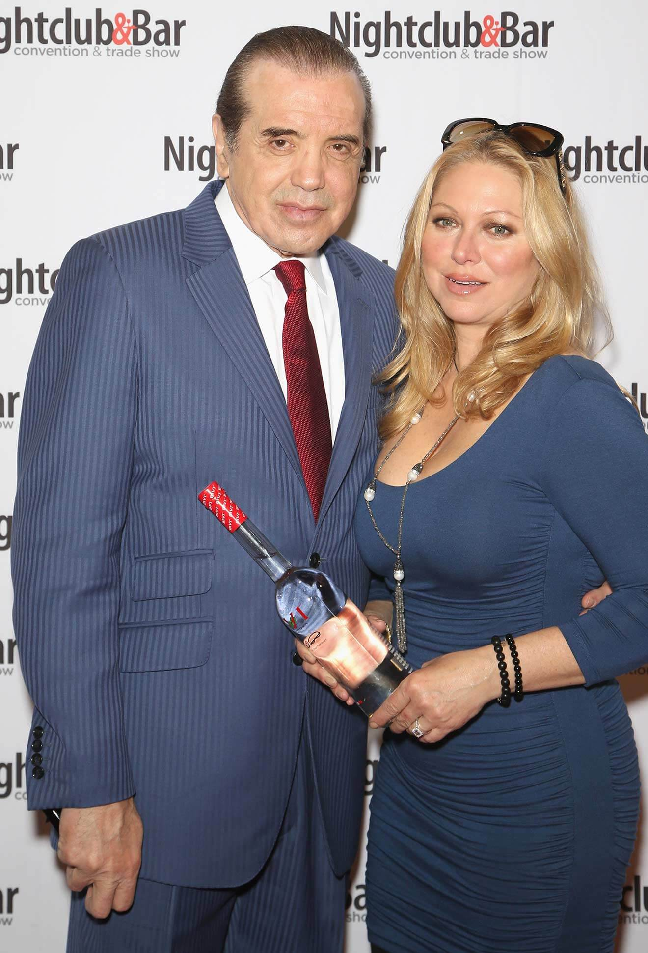 Actors Chazz Palminteri and Gianna Palminteri attend 31st Annual Nightclub & Bar Convention and Trade Show