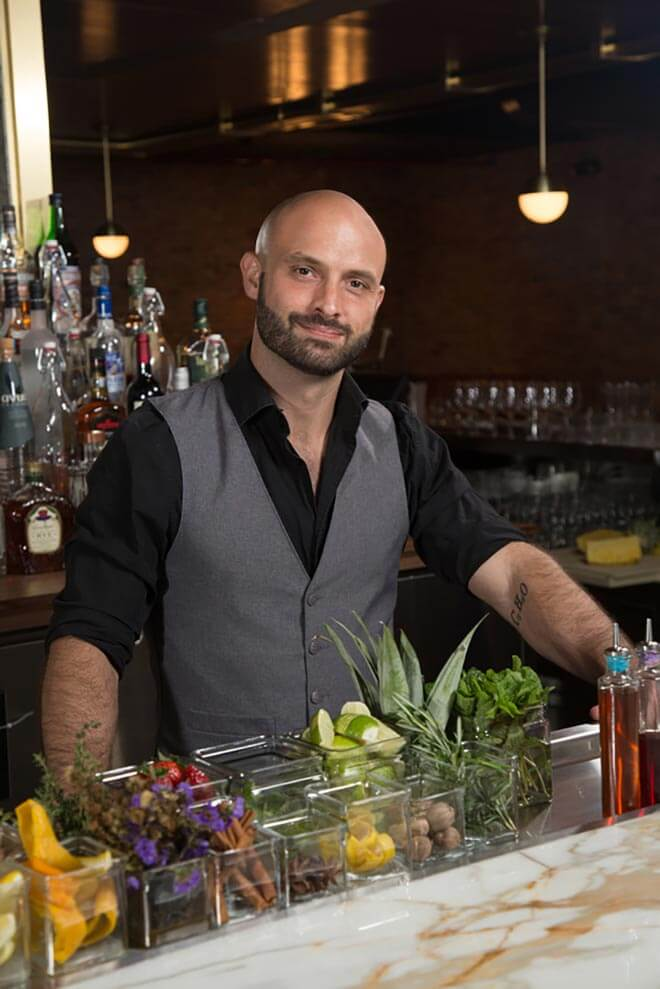 Mixologist and Chilled 100 Ambassador, Ben Potts