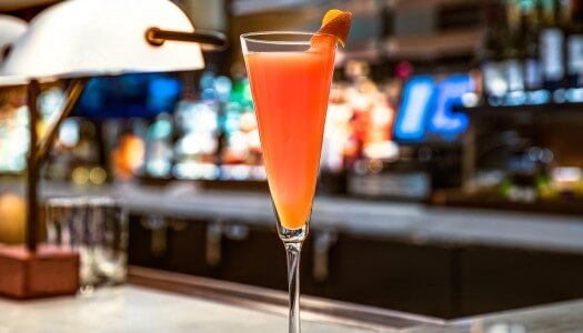 Chilled Drink of the Week: Ocean Prime Blood Orange Mimosa