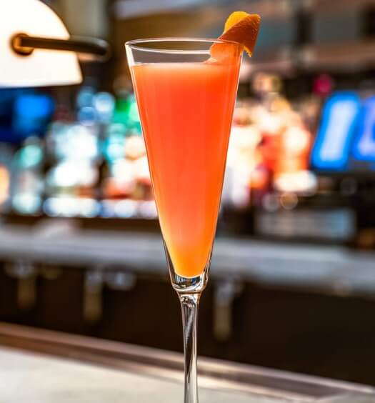 Chilled Drink of the Week: Ocean Prime Blood Orange Mimosa, cocktail recipes, featured image