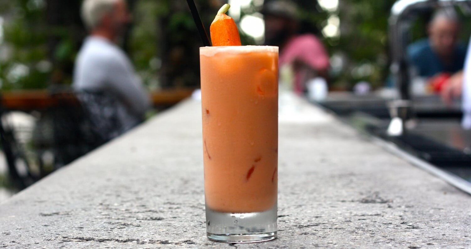 Chilled Drink of the Week: Carrot Chai Latte, cocktail recipes, featured image