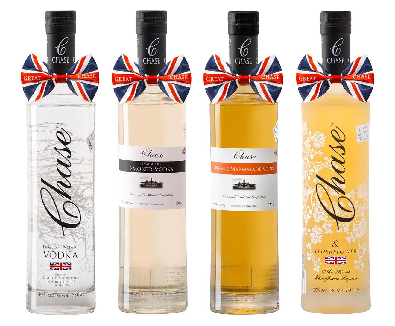 Chase Bottle Varieties including, Chase Potato Vodka, Chase Smoked, Chase Marmalade and Chase Elderflower Liqueur, industry news