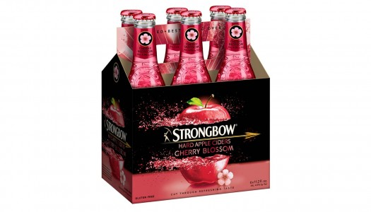 Strongbow Launches Cherry Blossom Hard Cider